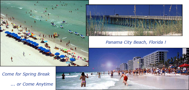 Panama City Beach Spring Break Vacation